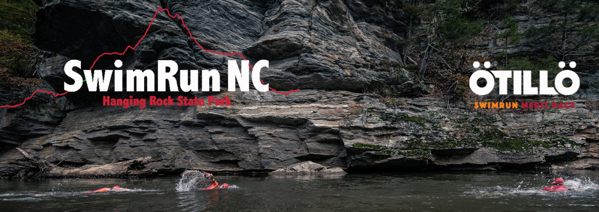 SwimRun NC at Hanging Rock State Park